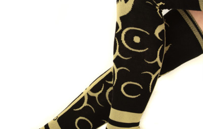 Diablo 3 Mistress of Pain Socks Side View - Geek Decor