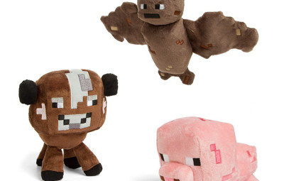 Minecraft Animal Plushies - Geek Decor
