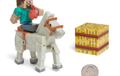 Minecraft Figures White Horse - Geek Decor