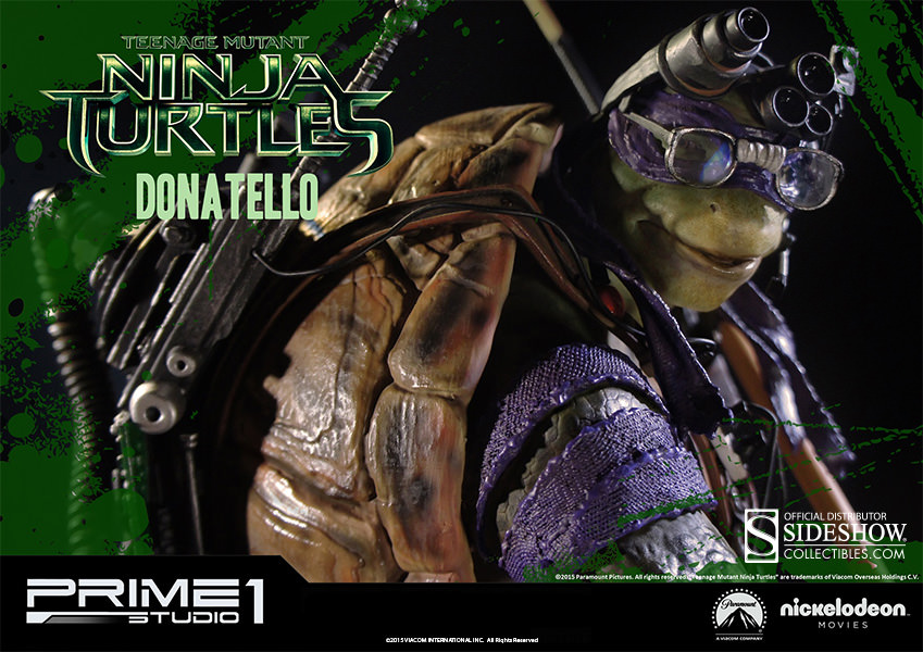 Tmnt Donatello Statue Allow Him To Be The Badass For