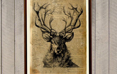 Stag Poster - Geek Decor
