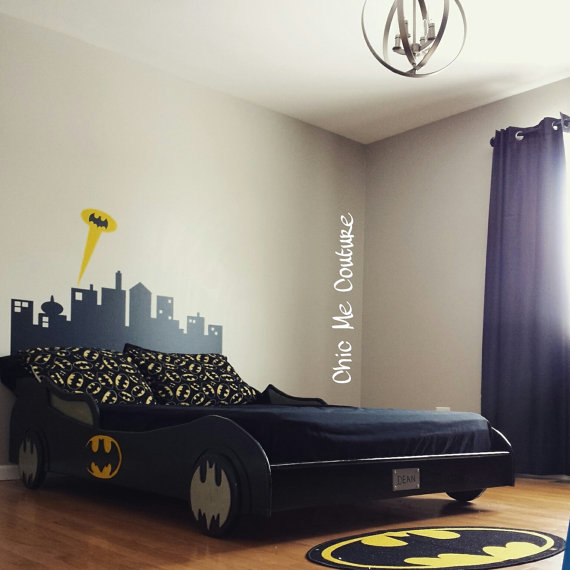 everything you need for a batman bedroom geek decor