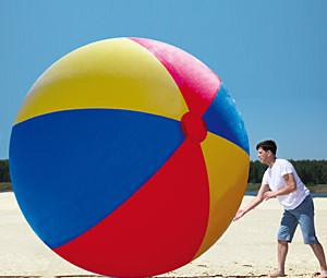 Giant Beach Ball - Geek Decor