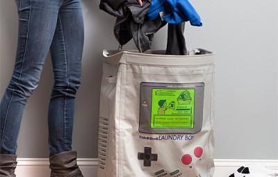 Laundry Boy Hamper - Geek Decor