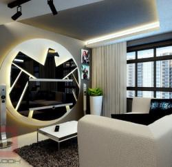 Avengers Apartment Living Room - Geek Decor