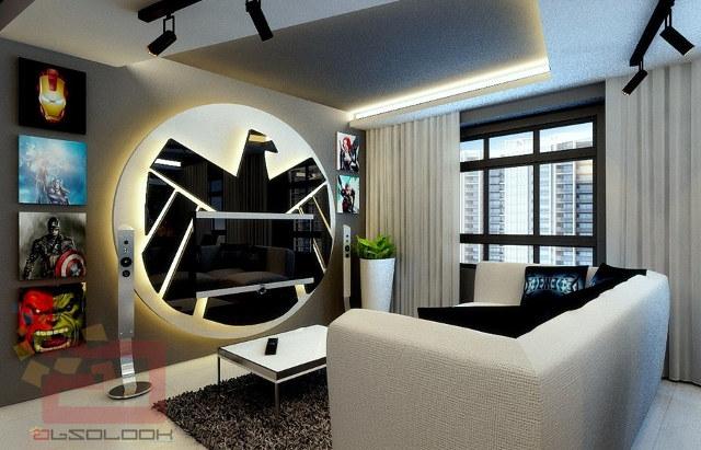 Fancy Avenger S Apartment Geek Decor