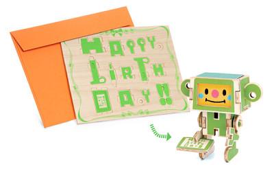 DIY Wooden Greeting Cards - Geek Decor