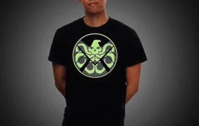 Men's Hydra T-Shirt Hidden Symbol - Geek Decor