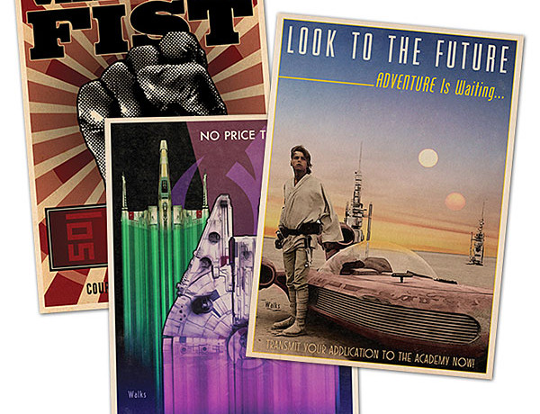 Star Wars Propaganda Set - Geek Decor
