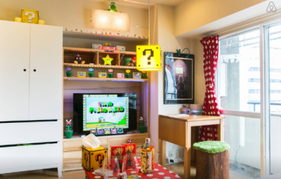 Super Mario Apartment Living Room Part 3 - Geek Decor