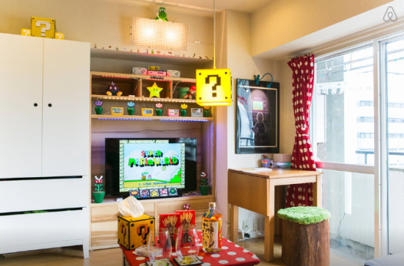 . A Nerd Approved Super Mario Apartment   Geek Decor