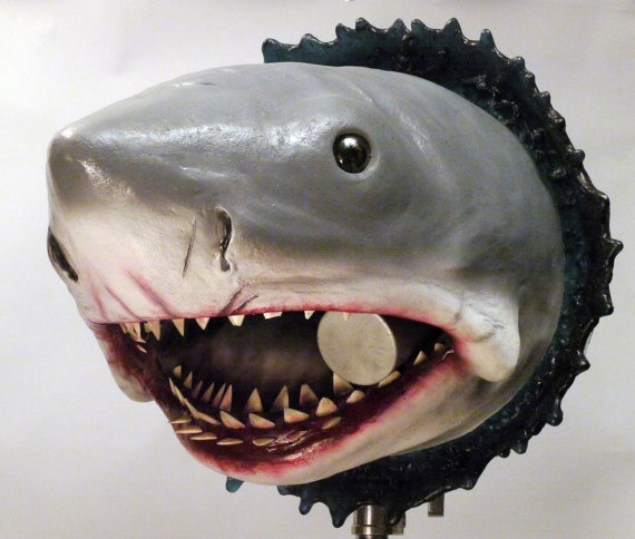 Jaws Bruce Just Popped In To Say Hi Geek Decor