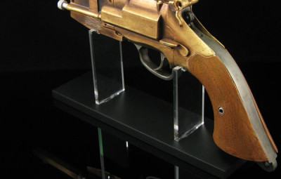Malcolm Reynold's Pistol Prop Replica Angled View - Geek Decor
