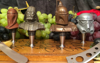 Wine And Cheese Star Wars Set - Geek Decor