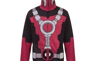Deadpool Hoodie -- Geek Decor