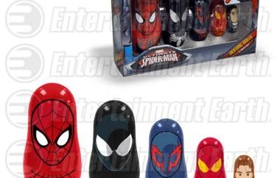 Spider-Man Nesting Dolls - Geek Decor