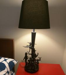 DIY Action Figure Lamp - Geek Decor