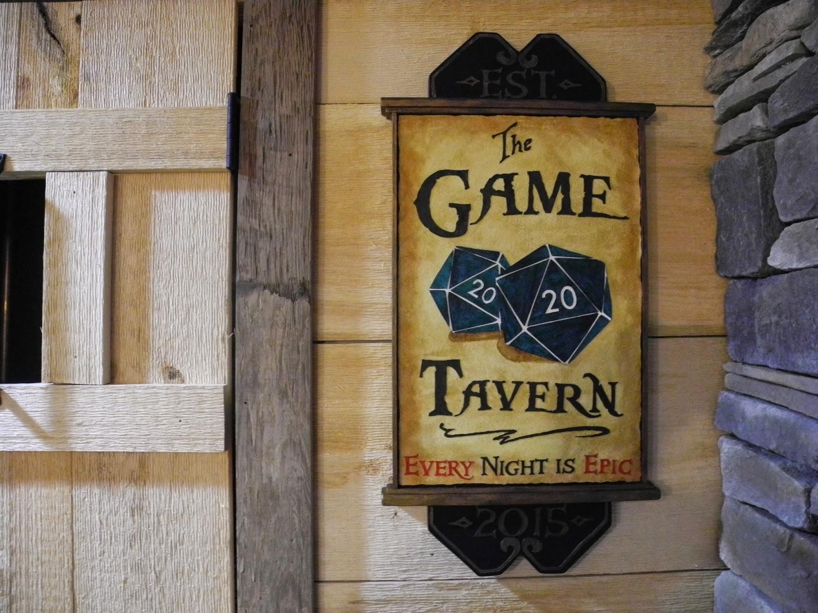 Geek Man Cave Decor : Featured geek ultanya game tavern decor