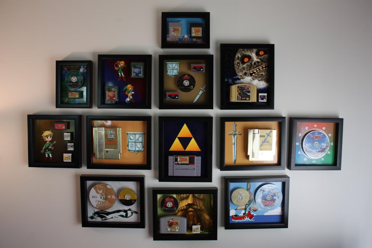 Its Zelda Wall Art Geek Decor
