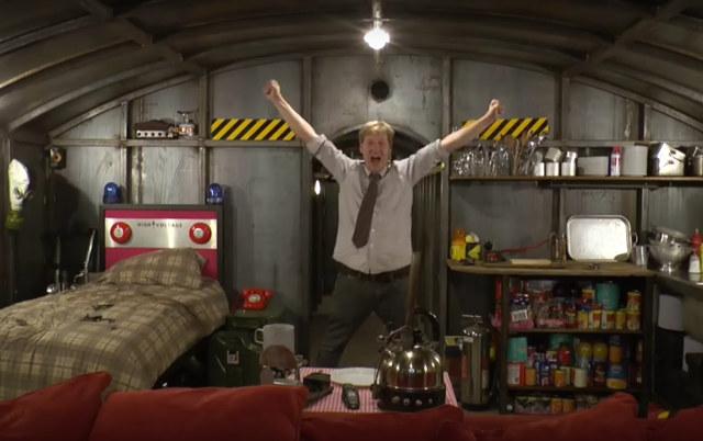 Geek Man Cave Decor : Underground apocalypse bunker man cave geek decor
